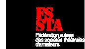 Logo de la Fédération Suisse des sociétés théâtrales d'amateurs - FSSTA