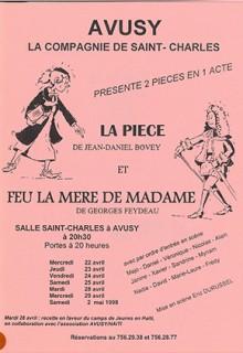 Avusy Théâtre 1998