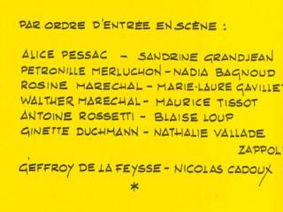 Rôles 2003 Antoine, mon macho adoré
