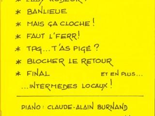 Programme 2006 La Revue